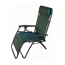 Blackspur Textilene Reclining Chair, Green