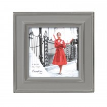 Hampton Frames Paloma 4x4 Photo Frame, Stone Grey