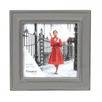 Hampton Frames Paloma 4X6 Photo Frame, Stone Grey
