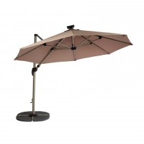 Hartman Wafer Parasol Base, Brown, Pack Of 4