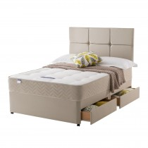 Silentnight Vegas Platform Top 4 Drawer Set Double