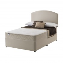 Silentnight Vienna Platform Top Divan Set Double