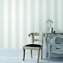 Graham And Brown Calico Wallpaper 1000x50cm, Stripe Grey
