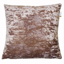 Lustre Feather Filled Cushion, Champagne