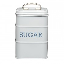 Living Nostalgia Antique Sugar Tin