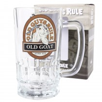 Old Guys Rule Old Goat Beer Stein, Glass