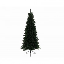 Kaemingk Lodge Slim Pine Christmas Tree 210cm, Green