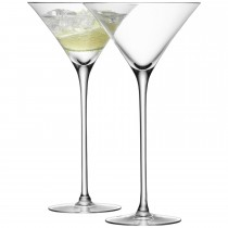 LSA Cocktail Glasses x2