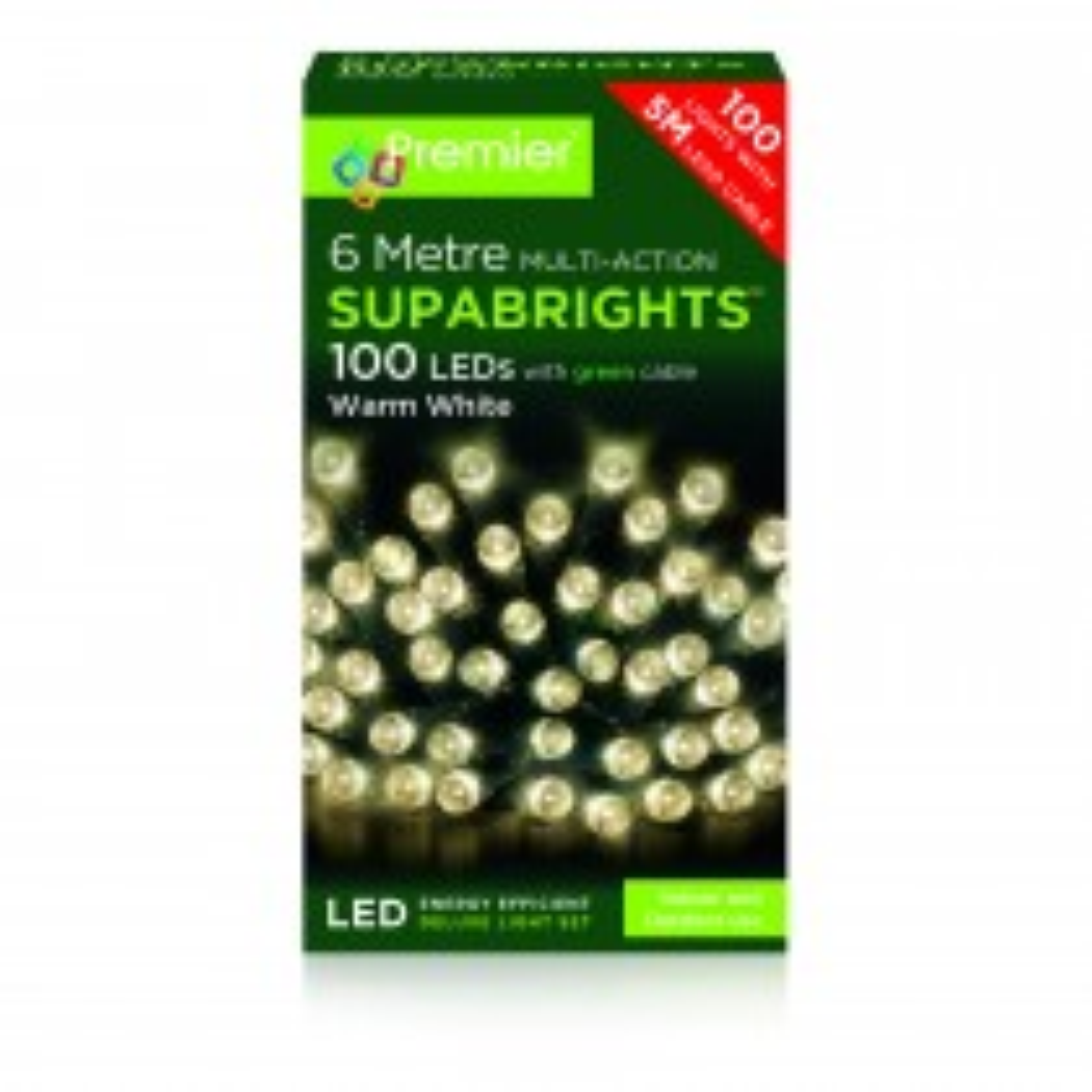 Premier 100 Multi Action Led Lights, Cool White