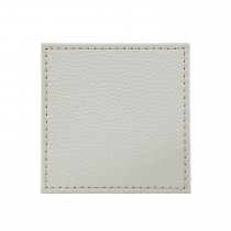 Denby Natural Faux Leather Coasters