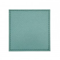 Denby Sage Green Faux Leather Coasters
