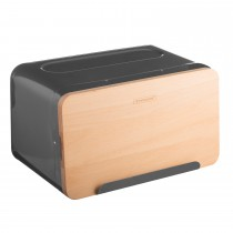 Typhoon Hudson Grey Bread Box