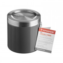 Typhoon Hudson Grey Stacking Storage, 11cm