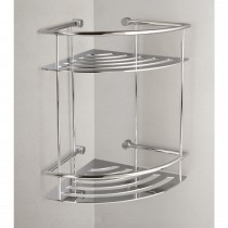 Miller Classic Corner 2 Tier Shower Shelf, Chrome