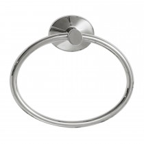 Robert Welch Oblique Towel Ring, Silver