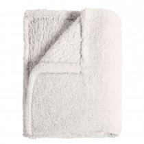 Mistral Sherpa Throw 130x170, Ecru