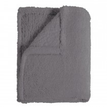 Mistral Sherpa Throw 130x170, Grey