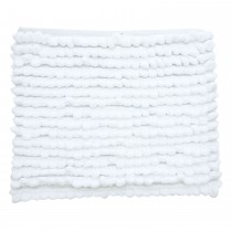 Casa Chunky Loop Bath Mat, White