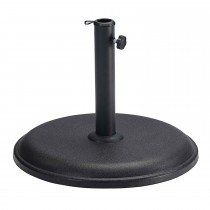 15kg Concrete Parasol Base, Black