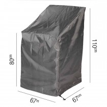 Casa Stackable Chair Aerocover, Anthracite