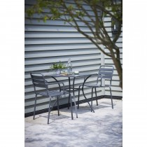 Garden Trading Dean Street Table & Chairs Set, Charcoal
