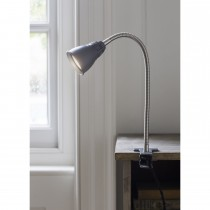 Garden Trading Cavendish Clip Lamp, Charcoal