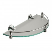 Miller From Sweden Cloakroom Shelf, Chrome