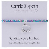 Carrie Elspeth Big Hug Bracelet, White