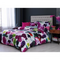 Bluebellgray Abstract Duvet King, Multi