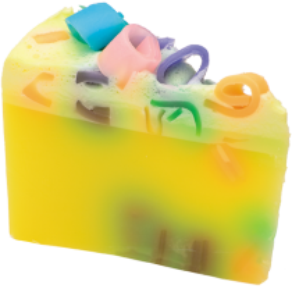 Bomb Cosmetics Pina Pinata Soap Cake, Yellow