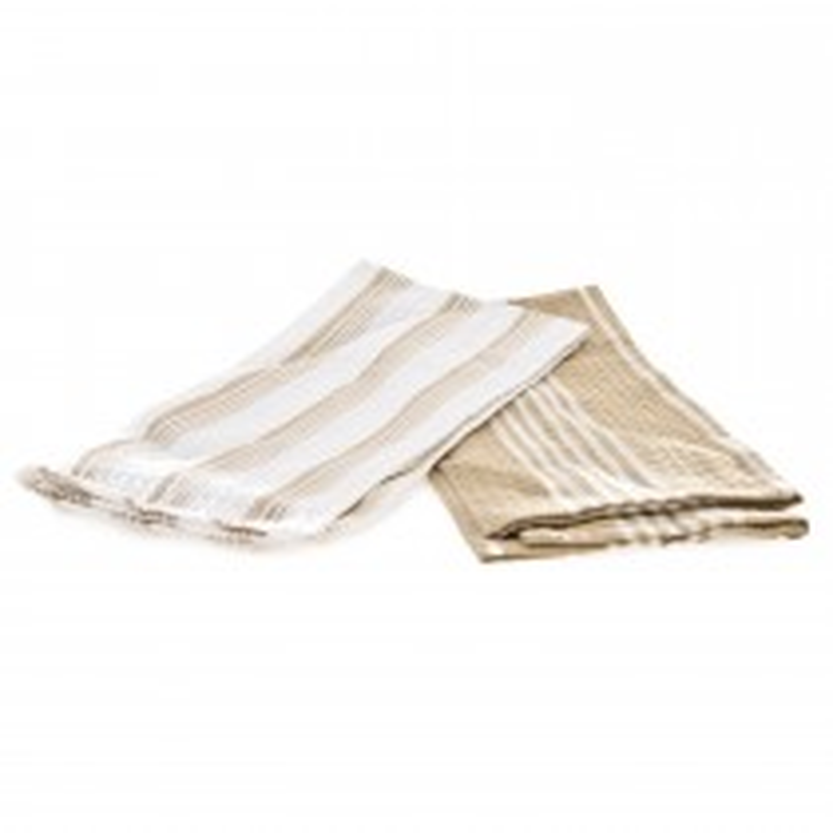 Casa Set 2 Tea Towels 50x70cm, Beige