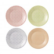 Royal Doulton Accent Set Of 4 Plates, 16cm