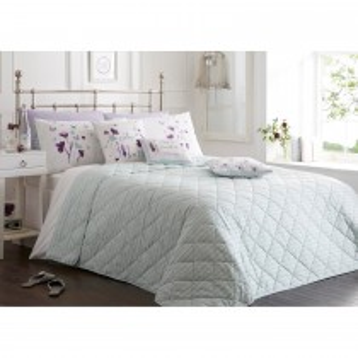 Rosenthal Amella Bedspread 195 X 229 Cm, Purple
