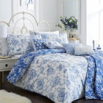 Rosenthal Clarence Duvet Set Double, Blue