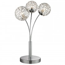 Casa Westminster Table Lamp, Silver