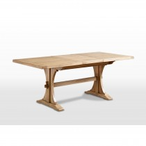 Old Charm Lichfield 5ft Extending Dining Table