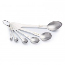 Kitchencraft Paul Hollywood Measuring Spoon Set 6 peice