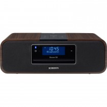 Roberts Bluetooth Sound System, Walnut Brown