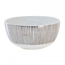 Luminosa Cereal Bowl, Silver