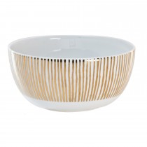 Luminosa Dessert Bowl, Gold