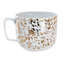 Luminosa Dotted Mug, Gold