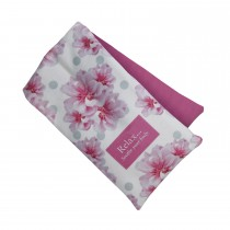 Aroma Home Floral Fragranced Body Wrap, Pink