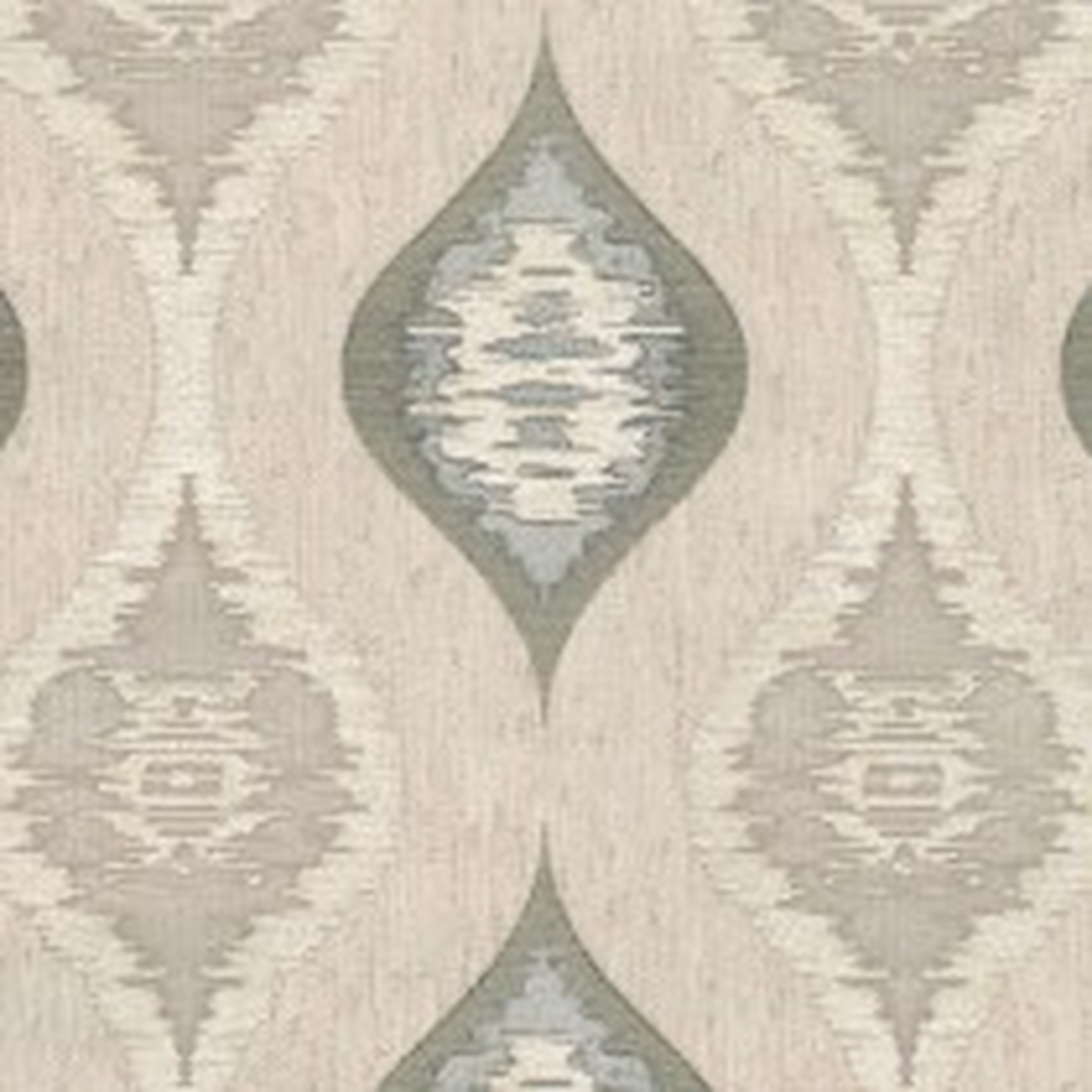 Belgravia Geometric Charcoal Wallpaper, Charcoal/natural