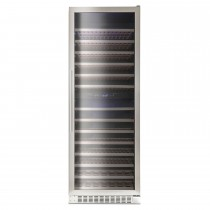 Montpellier 181 Bottle Wine Cooler, Stainless Steel
