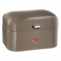 Wesco Single Grandy Bread Bin, Warm Grey
