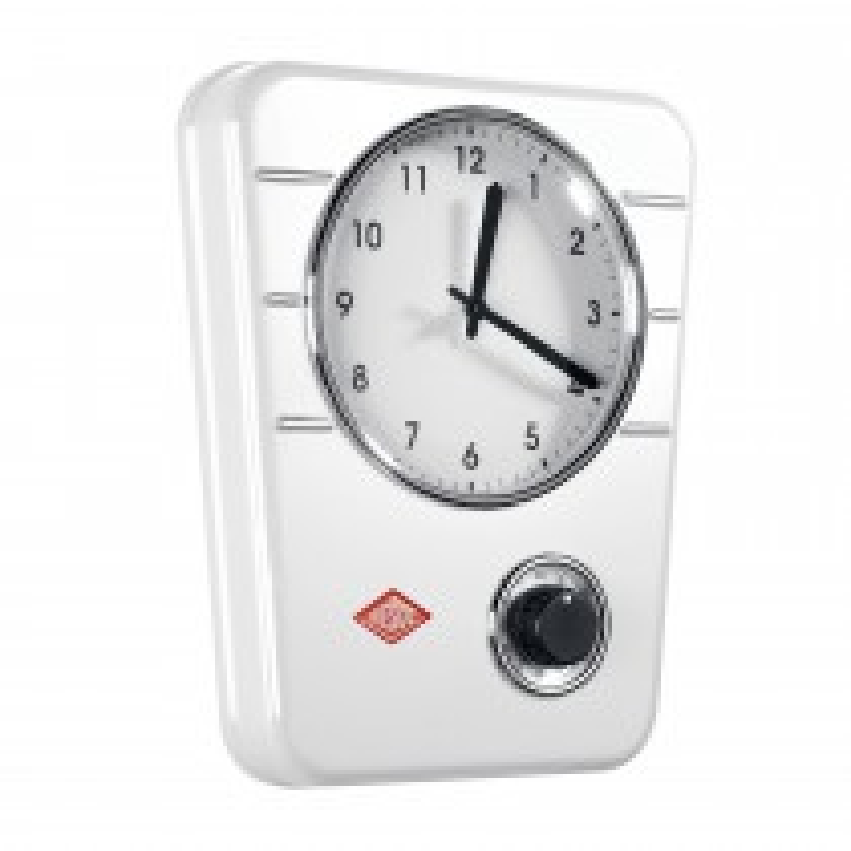 Wesco Kitchen Clock, White