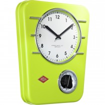 Wesco Kitchen Clock/timer, Lime Green