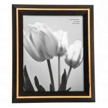 Casa Naturals Picture Frame 8x10, Black/natural