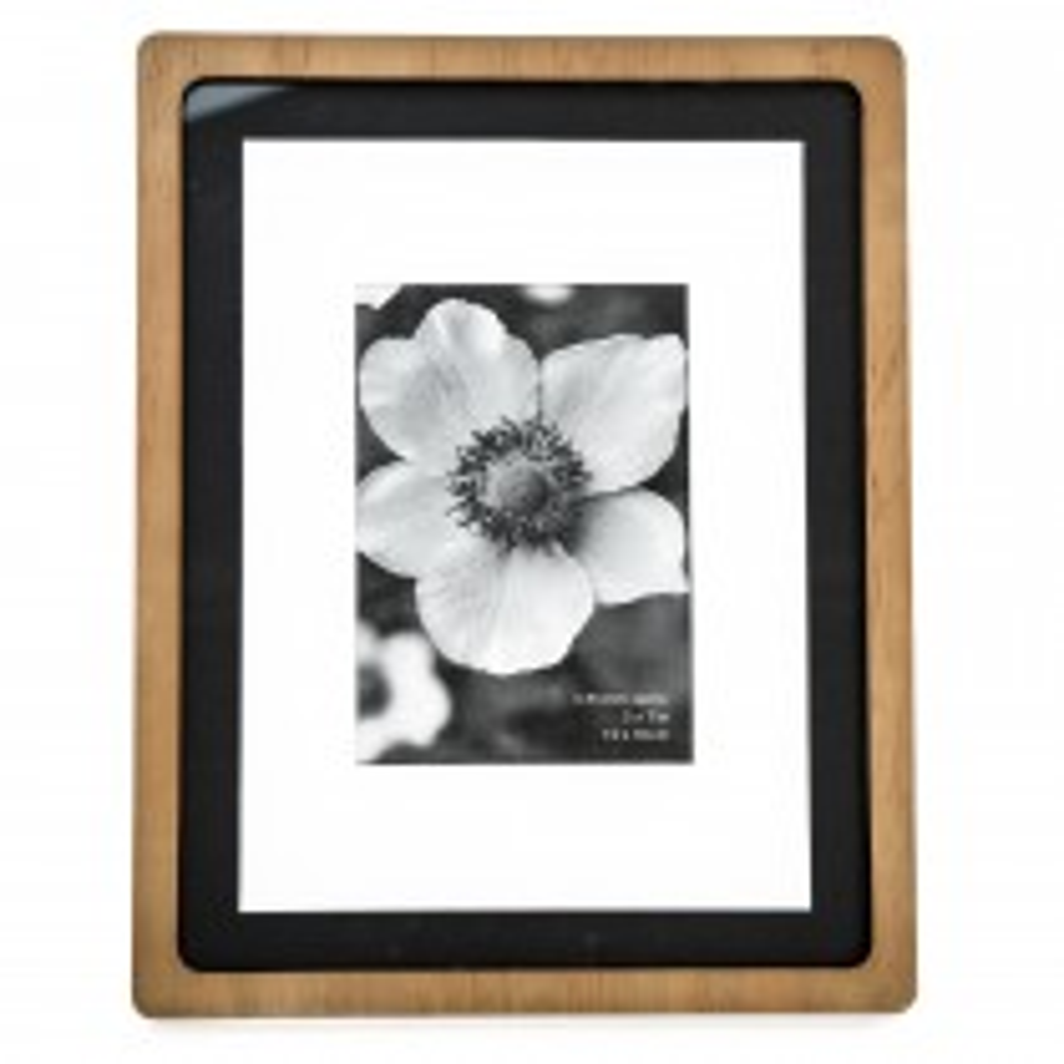 Casa Retro Picture Frame 8x10, Black/natural