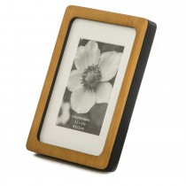 Casa Retro Picture Frame 5x7, Black/natural
